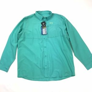 NWT Under Armour Offshore Fishing Shirt XL